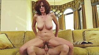 Andi James Fucked On Couch