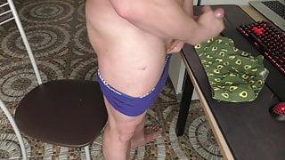 guy cumshot on friend's panties