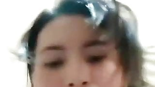 Cute Indonesian girl naked live