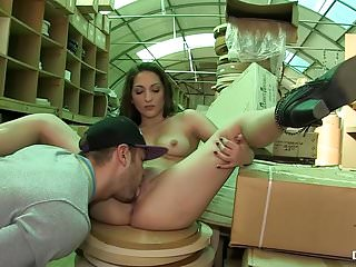 Adult warehouse - Chicas loca - spanish babe jimena lago fucked in warehouse