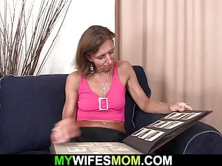 Old hairy pussys videos Wife watches her old hairy-pussy mother rides his dick