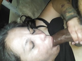 Deep throat dick sucking - Bbw dick sucking