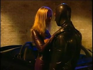 Anal sex in cars - Busty blond latex anal sex on car