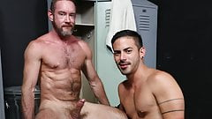 Locker Room Gay Anal