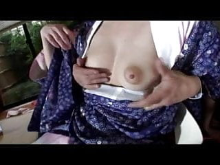 Busty japanese anal Pretty busty japanese girls hairy cunt creampied