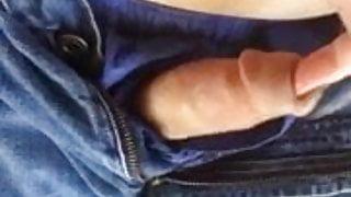 Finger Fucking My Cock