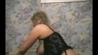 Hairy Amateur Granny in Action
