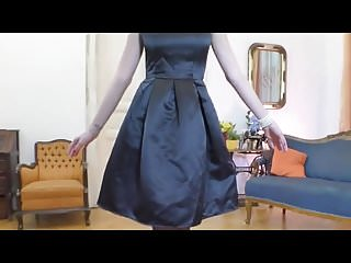 Vintage panties and seamed stockings porn - Mimi in seamed stockings heels.mp4