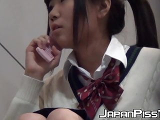 Girls pissing on toilets videos Hardcore fingering after japanese babe pisses in toilet
