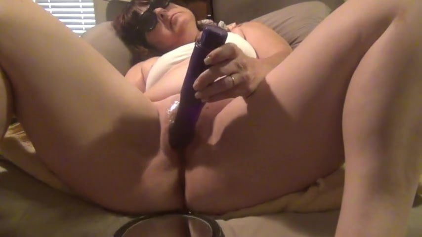 Homemade squirt dildo