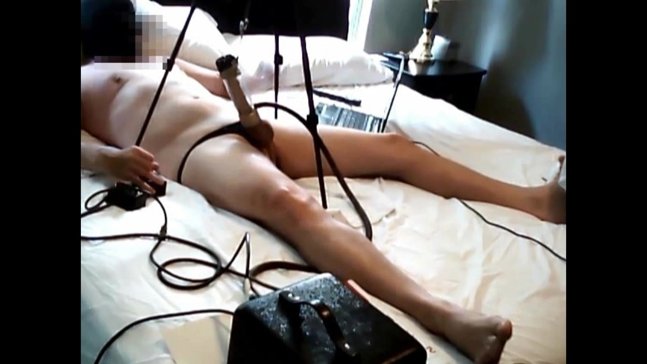 Blonde Riding Sybian Machine
