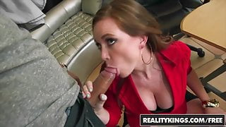 RealityKings - Big Tits Boss - Bruno Dickenz Jessica Rayne