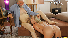 OLD4K. Insistent girl does everything to get access