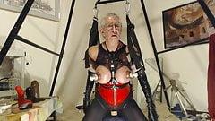 Now a slutty granny toy whore!