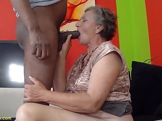 Busty 80s - 80 years old granny first interracial