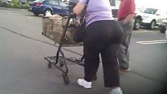 Abuela increíble gran culo gordo 2