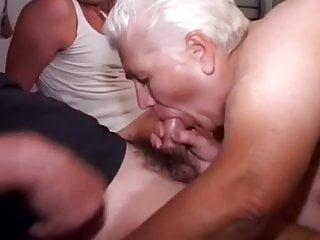 Sleeping slut multi 65 bbw grannie get multi cocks