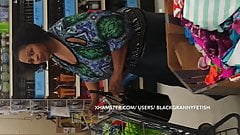 Black BBW Cougar Busted Me Upskirt