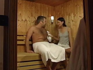 Sex in the sheats Sex in the sauna