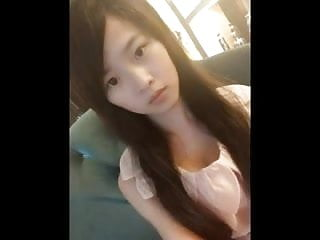 Cute chinese blowjob Cute chinese girl meng li masturbates on cam