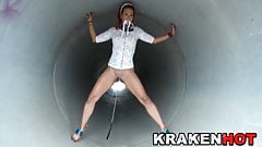 Krakenhot Hot Milf in a outdoor submission xxx video