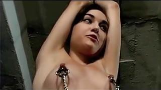Electro punishment by Lesbian Mistress 4