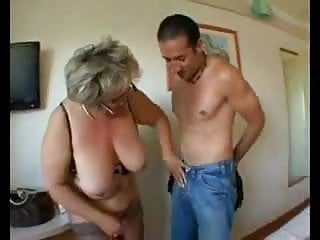 Tits in negligees - Bbw granny with big tits in hard anal