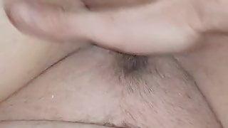 nasse Muschi gefingert