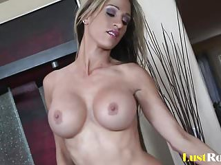 Positions with dildo Trying out banging positions with busty sarah jessie