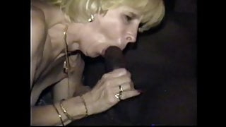 cuckold's wife gets mouth watering black cock