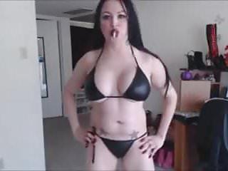 Big boob tiny bikini - Tiny bikini smoking joi