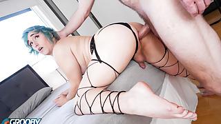 GROOBYGIRLS.COM: Nikki Mayhen Gets Fucked