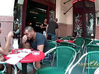British virgin islands soggy dollar bar Drecksau aus einer bar abgeschleppt und weggefickt