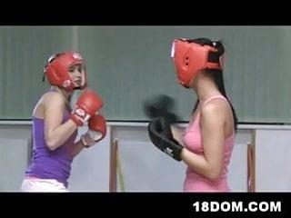 Rachel star fucks referee Hot 18yo girls cruelly fuck boxing referee