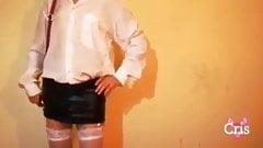 Cris. Stripper en castidad