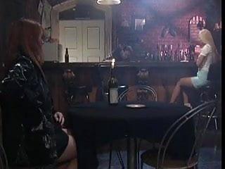 Bar lesbian nyc Lesbian chicks fucking in a bar