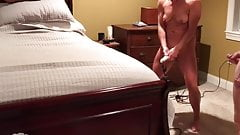 Fit wife and hubby mutual masturbation