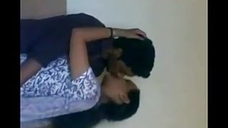 Indian college girls romance at rest room (Bathroom)