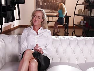 Lesbians in jeans Mommy brandi love and elsa jean
