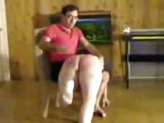 Knee over spanking tgp Girl gets spanked over the knees