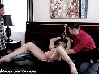 Erotic hairless women - Julia ann erotic bondage with young man