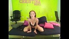 Christina Models Webcam Session 10