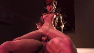 Overwatch - Tracer gets kinky! (3D animated POV)