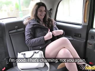 Funy and sexy Fake taxi big tits and sexy eyes takes cock