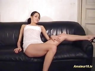 Nude contortionist bendable gymnast flexible Flexible gymnast gets fucked on the couch and cumshot