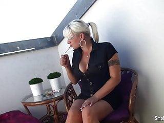 Bridgette the midget videos Busty bridgette smokes