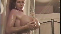 Teddi Barrett in the shower