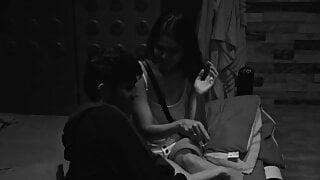 Ace Of Space - S02 (Ohm Kaliraman massages Rashmi Jha's feet