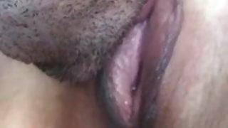 Licking big delicious pussy