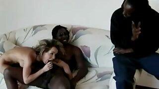 Envy servicing two black men